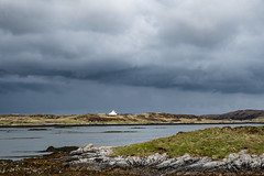 Lonely house at Loch Euphort (claire.poole4) Tags: locheuphort northuist scotland clouds storm landscape landscapephotography outerhebrides visitscotland nikon