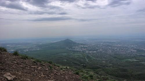 Пятигорск с вершины Бештау ©  dubna30