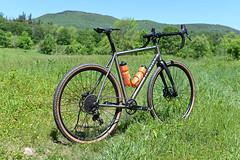 Huntsman in it's element (44 Bikes) Tags: 44bikes custombicycle huntsman framebuilding titanium prototype