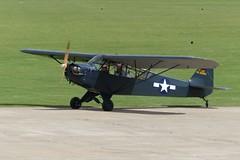 Piper J3C-65 Cub 42-38384 (G-BHVV) (Gavin Livsey) Tags: sywell 4238384 gbhvv j3c65 cub