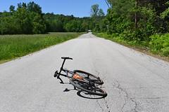 Road Ahead (44 Bikes) Tags: 44bikes custombicycle huntsman framebuilding titanium prototype