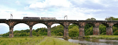 0Z91 (elr37418) Tags: 0z91 river weaver cheshire water 67006 91119 viaduct bridge stone uk trees west coast mainline intercity royal nikon d7100 great britian england
