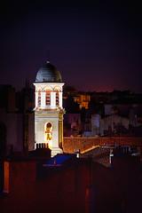 Lumières nocturnes (thierrybalint) Tags: nuit nocturne beffroi clocher night belfry belltower nikoniste thierrybalint notredamedumont
