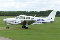 Piper PA-28R-200 Cherokee Arrow II G-OMNI (Gavin Livsey) Tags: cherokee pa28 gomni sywell