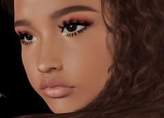 #261 News from ♥ [LeLuck] ♥ (Mila van Nelle) Tags: event eyeshadow debbie make up genus catwa omega face woman hunt gacha