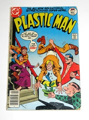 plastic man dc comics issue 17 april may 1977 comic (tjparkside) Tags: plasticman plastic man dc comics comic book books april may 1977 issue 17 sensational stretching super hero