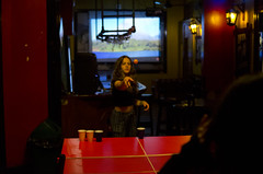 Middle of the shot (speed6ump) Tags: flying dog hostal hostel peru lima miraflores travel beerpong beer pong