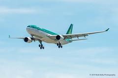 Aer Lingus, EI-EWR, A332 (Bob from Caledon) Tags: a330200 aerlingus cyyz eiewr pearsoninternationalairport torontopearsoninternationalairport aeroplanes aircraft airplanes arrivals runway05