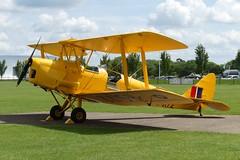 "DH.82A Tiger Moth R5172 ""FIJE"" (G-AOIS) (Gavin Livsey) Tags: sywell tigermoth dh82a r5172 gaois"