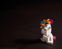 Unicorn (SuckMyBrick) Tags: lego moc suckmybrick magic santa tarot believe angels love unicorn flat earth ghosts illuminati ufo
