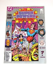 dc super powers issue 4 of 4 december 1986 comic (tjparkside) Tags: dc super powers issue 4 december 1986 comic comics book books superman orion wonder woman batman janus cyborg golden pharaoh steppenwolf kalibak mr freeze darkseid