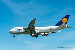 Lufthansa, D-ABVY, B744 (Bob from Caledon) Tags: b747400 cyyz dabvy lufthansa pearsoninternationalairport torontopearsoninternationalairport aeroplanes aircraft airplanes arrivals runway05