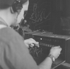 Lancs & Tanks 2019 (JAY 420) Tags: film rolleiflex livinghistory reenactment ww2 ilford radio wireless signals airborne 1stairborne filmphotography