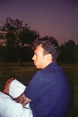 Purple Sunrise (Henrique F. da Silva) Tags: olympusaccura 35mm colorplus200 kodakfilm kodak olympuszoom105 olympusaccura105 pointandshoot ubatuba beach seaside