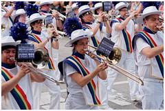 Lesbian/Gay Big Apple Chorus (Rex Block) Tags: street dc washington nikon band pride parade marching d750 dslr dupont bigapple dupontcircle trombones 17thstreet rstreet 105mm f28g lgbac ekkidee