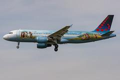 Brussels Airlines / A320 / OO-SNE / EBBR 25R (_Wouter Cooremans) Tags: ebbr bru brusselsairport zaventem spotting spotter avgeek aviation airplanespotting brusselsairlines a320 oosne 25r brussels airlines snbruegel bruegel