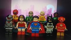 The League (The_Brick_Legend) Tags: justiceleague flash batman wonderwoman cyborg superman firestorm aquaman greenarrow greenlantern johnstewart barryallen brucewayne dianaprince arthurcurry clarkkent victorstone oliverqueen
