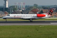 Logan Air / ERJ135 / G-SAJU / EBBR 25L (_Wouter Cooremans) Tags: ebbr bru brusselsairport zaventem spotting spotter avgeek aviation airplanespotting loganair erj135 gsaju 25l