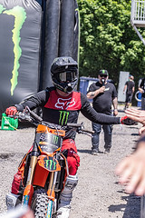 A55T8779 (Nick Kozub) Tags: brett turcotte fmx freestyle motocross demo demonstration airborne altitude kiss sky icarus motorcycle armageddon escape gravity insane cloud day monster energy compound pushpull eos photography f1 canada canon ef usm l 100400 f4556 is