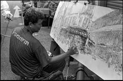 Chinatown Singapore (waex99) Tags: 2019 400iso bangkok epson kodak leica m6 singapore summitar50mmf2 trix analog film jan v800 man art homme artist artiste paint painting penture peintre painter aquarelle street squetch chinois chinese