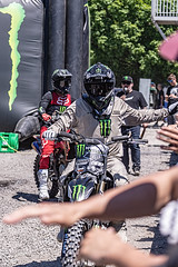A55T8768 (Nick Kozub) Tags: brett turcotte fmx freestyle motocross demo demonstration airborne altitude kiss sky icarus motorcycle armageddon escape gravity insane cloud day monster energy compound pushpull eos photography f1 canada canon ef usm l 100400 f4556 is