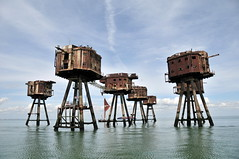 DSC_1553 (Thomas Cogley) Tags: red sands fort maunsell army world war two 2 ii ww2 wwii defence antiaircraft tower metal rust decay river thames sea water old historic project redsand history