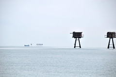 DSC_1509 (Thomas Cogley) Tags: red sands fort maunsell army world war two 2 ii ww2 wwii defence antiaircraft tower metal rust decay river thames sea water old historic project redsand history