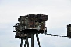 DSC_1528 (Thomas Cogley) Tags: red sands fort maunsell army world war two 2 ii ww2 wwii defence antiaircraft tower metal rust decay river thames sea water old historic project redsand history