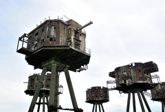 DSC_1534 (Thomas Cogley) Tags: red sands fort maunsell army world war two 2 ii ww2 wwii defence antiaircraft tower metal rust decay river thames sea water old historic project redsand history