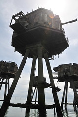 DSC_1536 (Thomas Cogley) Tags: red sands fort maunsell army world war two 2 ii ww2 wwii defence antiaircraft tower metal rust decay river thames sea water old historic project redsand history