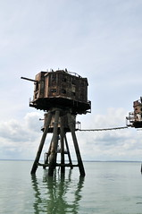 DSC_1543 (Thomas Cogley) Tags: red sands fort maunsell army world war two 2 ii ww2 wwii defence antiaircraft tower metal rust decay river thames sea water old historic project redsand history