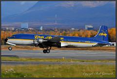 N451CE Everts Air Cargo (Bob Garrard) Tags: douglas dc6a r6d1 liftmaster n451ce everts air cargo anc panc usn united states navy dc6 military warbird