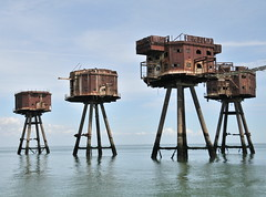 DSC_1561 (Thomas Cogley) Tags: red sands fort maunsell army world war two 2 ii ww2 wwii defence antiaircraft tower metal rust decay river thames sea water old historic project redsand history