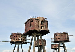 DSC_1595 (Thomas Cogley) Tags: red sands fort maunsell army world war two 2 ii ww2 wwii defence antiaircraft tower metal rust decay river thames sea water old historic project redsand history