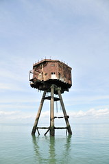 DSC_1611 (Thomas Cogley) Tags: red sands fort maunsell army world war two 2 ii ww2 wwii defence antiaircraft tower metal rust decay river thames sea water old historic project redsand history