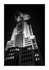Chicago Building (Jean-Louis DUMAS) Tags: architecture architect architecte architectural architecturale bâtiment building reflecting buildiing chicago sony art batiment sal70200g twop noretblanc tower award monochrome noir blanc black white bn bnw nb ngc