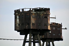 DSC_1517 (Thomas Cogley) Tags: red sands fort maunsell army world war two 2 ii ww2 wwii defence antiaircraft tower metal rust decay river thames sea water old historic project redsand history