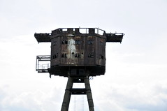 DSC_1531 (Thomas Cogley) Tags: red sands fort maunsell army world war two 2 ii ww2 wwii defence antiaircraft tower metal rust decay river thames sea water old historic project redsand history