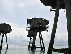 DSC_1538 (Thomas Cogley) Tags: red sands fort maunsell army world war two 2 ii ww2 wwii defence antiaircraft tower metal rust decay river thames sea water old historic project redsand history