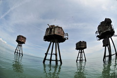 DSC_1566 (Thomas Cogley) Tags: red sands fort maunsell army world war two 2 ii ww2 wwii defence antiaircraft tower metal rust decay river thames sea water old historic project redsand history