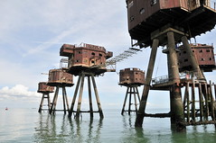 DSC_1584 (Thomas Cogley) Tags: red sands fort maunsell army world war two 2 ii ww2 wwii defence antiaircraft tower metal rust decay river thames sea water old historic project redsand history