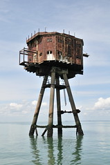 DSC_1626 (Thomas Cogley) Tags: red sands fort maunsell army world war two 2 ii ww2 wwii defence antiaircraft tower metal rust decay river thames sea water old historic project redsand history