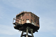 DSC_1628 (Thomas Cogley) Tags: red sands fort maunsell army world war two 2 ii ww2 wwii defence antiaircraft tower metal rust decay river thames sea water old historic project redsand history