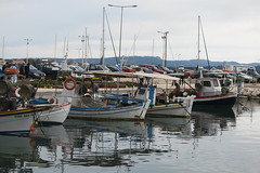 Greek fishing boats (dramadiva1) Tags: