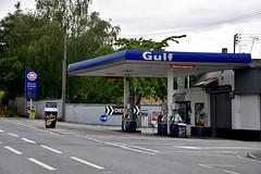 Gulf, Charfield South Gloucestershire. (EYBusman) Tags: gulf petrol gas gasoline filling service station garage char field south gloucstershire texaco certas energy eybusman