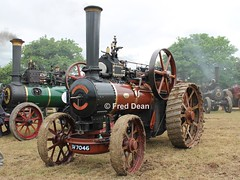 John Fowler & Co. Traction Engine (SV7046). (Fred Dean Jnr) Tags: dunkereen innishannon innishannonsteamvintagerally vintage cork june2009 innishannonsteamvintagerally2009 johnfowlerco tractionengine sv7046 worksno15718