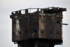 DSC_1521 (Thomas Cogley) Tags: red sands fort maunsell army world war two 2 ii ww2 wwii defence antiaircraft tower metal rust decay river thames sea water old historic project redsand history