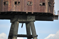 DSC_1550 (Thomas Cogley) Tags: red sands fort maunsell army world war two 2 ii ww2 wwii defence antiaircraft tower metal rust decay river thames sea water old historic project redsand history