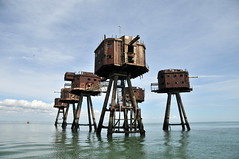 DSC_1558 (Thomas Cogley) Tags: red sands fort maunsell army world war two 2 ii ww2 wwii defence antiaircraft tower metal rust decay river thames sea water old historic project redsand history