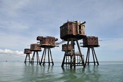 DSC_1559 (Thomas Cogley) Tags: red sands fort maunsell army world war two 2 ii ww2 wwii defence antiaircraft tower metal rust decay river thames sea water old historic project redsand history